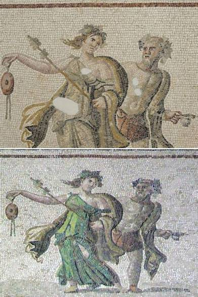 Ancient Roman mosaics ruined in botched restoration job | News in Conservation | Scoop.it