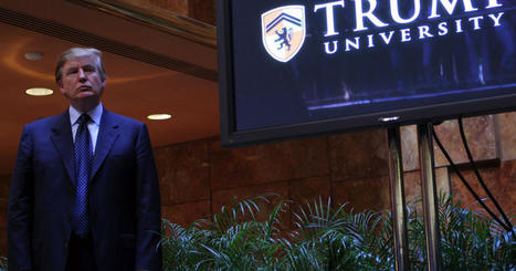 Former Texas official says he was told to drop Trump University probe - CBS News | The Student Union | Scoop.it
