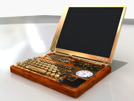 Steampunk Laptop | Choose Steampunk | Scoop.it