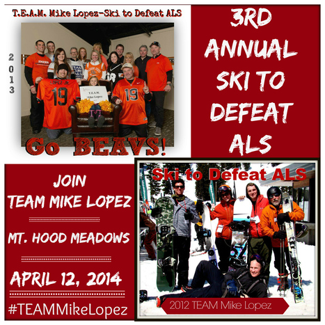 3rd Annual TEAM Mike Lopez Ski to Defeat ALS- Oregon   Polycystic Ovarian Syndrome   Scoop.it