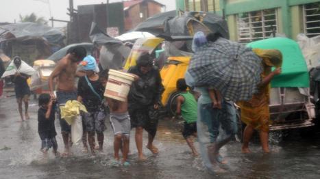 VIDEO. Le typhon Rammasun fait dix morts aux Philippines   Risques et Catastrophes naturelles dans le monde   Scoop.it