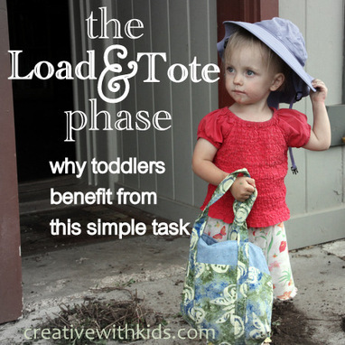 Toddlerhood: The Load and Tote Phase | Learn through Play - pre-K | Scoop.it