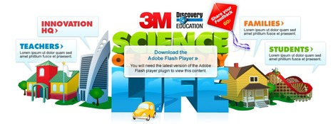 3M Science of Everyday Life - Discovery Education | Technology in Education | Scoop.it