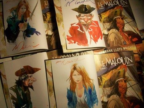 le calendrier 2015 + l'album dédicacé bientôt prêts ! | Le Malouin | Scoop.it