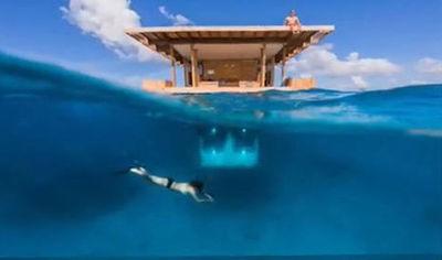 Une incroyable chambre d'hôtel sous-marine   La plongée sous-marine   Scoop.it