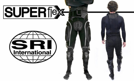 SRI International spins off robotics project as Superflex, aiming at human augmentation | The Robot Times | Scoop.it