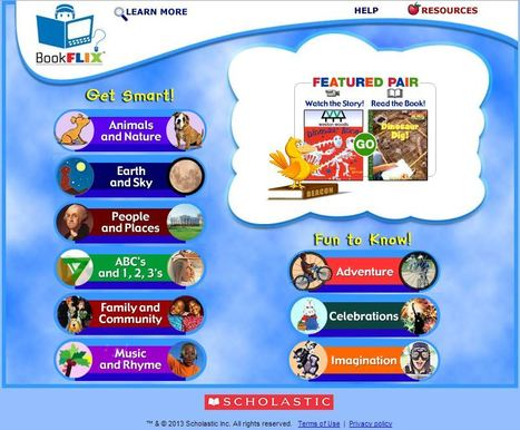 BookFlix | Resources to Support the Third Grade Guarantee | Scoop.it
