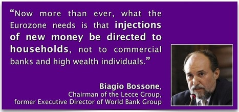 Prominent Activists and Special Advisors who advocate a different type of QE | The Money Chronicle | Scoop.it
