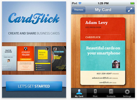 CardFlick - Create & Share Business Cards | FailCon | Scoop.it
