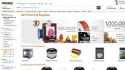 Amazon vende le stampanti 3d MakerBot Replicator 2, Afinia 3D ... | Artigiano Digitale e FabLab | Scoop.it