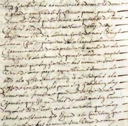 Le testament d'Estienne Natholy | Chroniques d'antan et d'ailleurs | Chroniques d'antan et d'ailleurs | Scoop.it