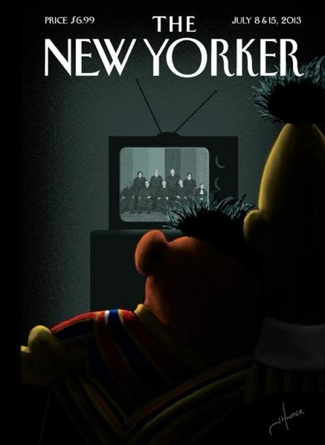 New Yorker cover of Sesame Street gets explosive Twitter reaction   Technoculture   Scoop.it