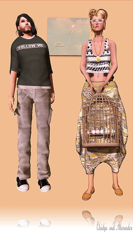 Freebies and cheapies in SL: 5 free looks to show (Elsi, Alexander, Ulysse, Helhis and Alixia) | Freebies and cheapies in second life. | Scoop.it