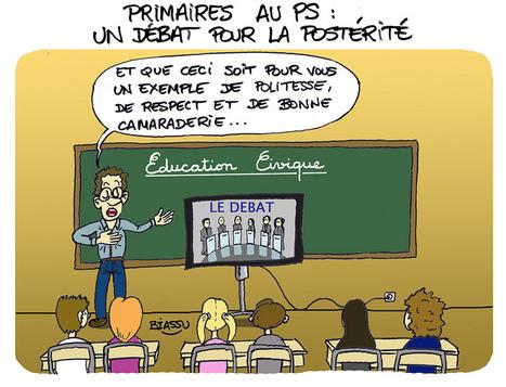 PS, le débat des primaires vu par Biassu | Photos de LYonenFrance | LYFtv - Lyon | Scoop.it
