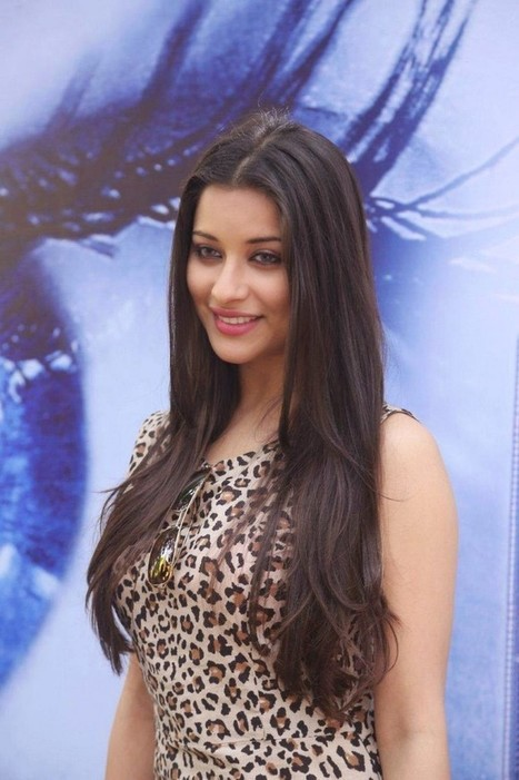 Madhurima in cheetah Print Skirt short Dress, Straightened HairStyle at Nach Movie Press Meet IndianRamp.com, Actress, Tollywood, Western Dresses   Indian Fashion Updates   Scoop.it