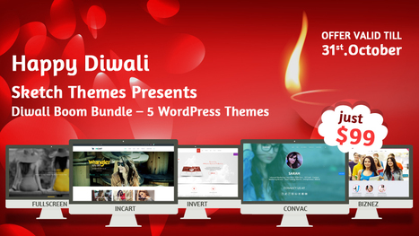Diwali Boom Bundle | WordPress themes at just $99 | Premium WordPress Themes | Best WordPress Themes 2013 | SketchThemes | Sketchthemes | Scoop.it