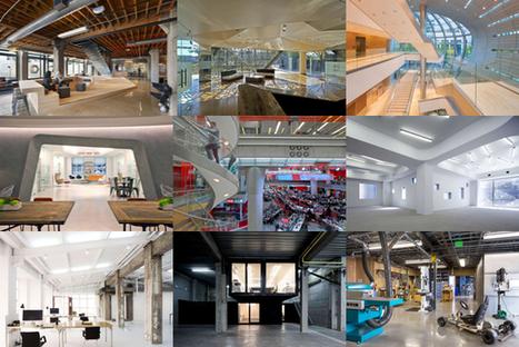 9 bureaux parmi les plus dingues de la planète | Décoration et aménagement de bureaux | Scoop.it