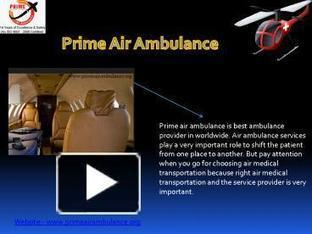 Importance of Air Ambulance Aviation | Prime Air Ambulance Services | Scoop.it