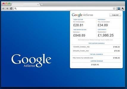 Suivre ses revenus AdSense dans Chrome, AdSense Publisher Toolbar | Time to Learn | Scoop.it