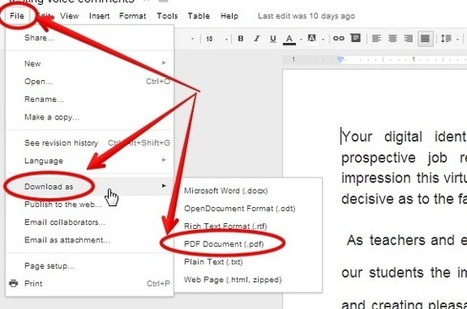 6 Tips Teachers Should Be Able to Do on Google Docs ~ Educational Technology and Mobile Learning | TEFL & Ed Tech | Scoop.it