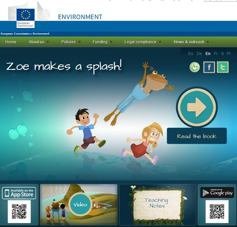 Children and Youth Publications - Environment - European Commission | Education for Sustainable Development | Scoop.it