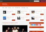 Mandora, Free WordPress Red Blog Magazine Theme | WP Download | dfsgvsdg | Scoop.it