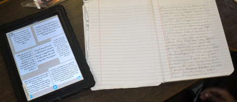 Organizing Writing with Pic Collage + Mentor Text = Success | Writing using ipads | Scoop.it