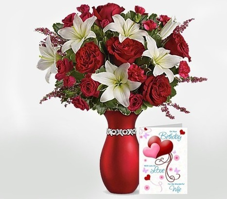 Top Romantic Birthday Gift Ideas for Wife   Myfloralkart.com   Scoop.it