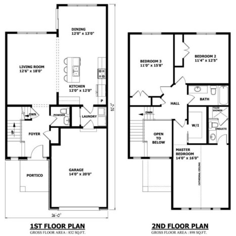 Two Storey House Plans | Home Design | Scoop.it