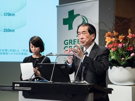 Naoto Kan speaks at Green Cross event in Zurich - Green Cross International | Japan Tsunami | Scoop.it