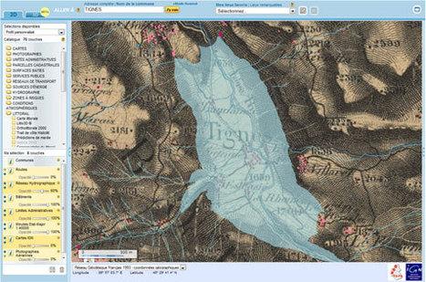 GénéInfos: Surfez en couleur sur les cartes d'état major de Géoportail   GenealoNet   Scoop.it