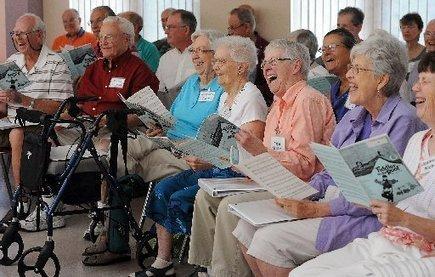 Larimer Chorale's Singing for Seniors Program gives seniors 50+ an opportunity ... - ReporterHerald.com | Senior Care | Scoop.it