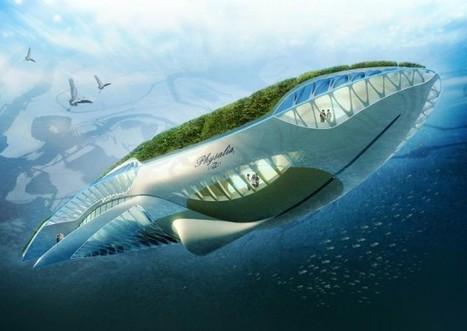 Le Physalia: nouveau concept de jardin écologique flottant qui nettoie nos fleuves | Architecture insolite | Scoop.it
