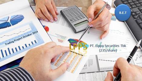 LPPS :: October 201 PT.Lippo Securities Tbk. | B.E.T  Veritas & Trading Projects | Scoop.it