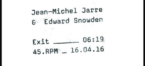 Écoutez «Exit», morceau enregistré en duo par Jean-Michel Jarre et Edward Snowden | Paper Rock | Scoop.it