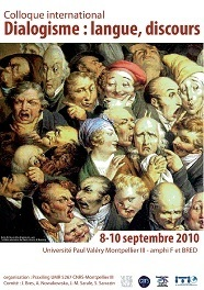 Actes du colloque Dialogisme : langue, discours, Praxiling, Montpellier 3, 2010 | Théorie du discours 2. 1980-2000 | Scoop.it