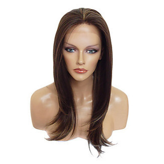 European Style Lace Front Stylish Long Straight Heat-resistant Synthetic Wig – WigSuperDeal.com | Party Wigs | Scoop.it