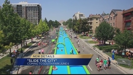 'Slide The City' 1000 ft Slip & Slide coming to Pittsburgh area | Pittsburgh Pennsylvania | Scoop.it