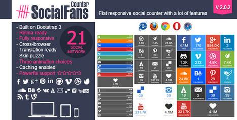 CodeCanyon SocialFans - WP Responsive Social Counter Plugin v2.0.2 | free material | Scoop.it