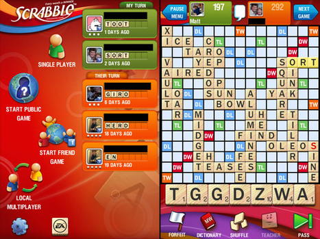 Blowing It: Furious Scrabble Fans Boycott After Upgrade Wipes Contacts & Scores | Contests and Games Revolution | Scoop.it