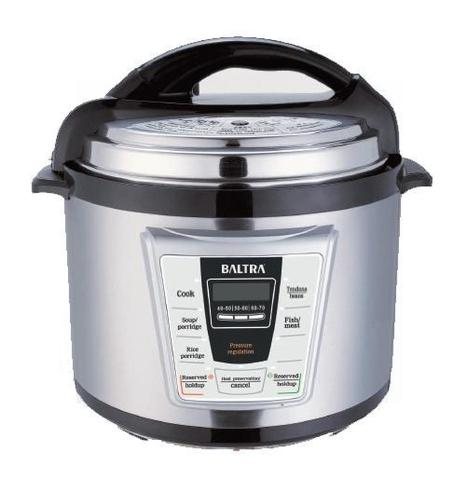 Baltra Electric Pressure Cooker, Electric Travel Cooker Deep Fryer Price in India | Baltra Home Products | Scoop.it