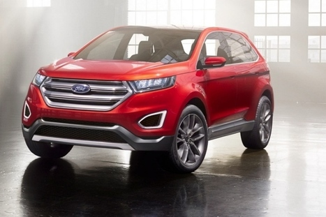 Ford Edge Concept Makes European Debut in Barcelona - autoevolution | europe | Scoop.it