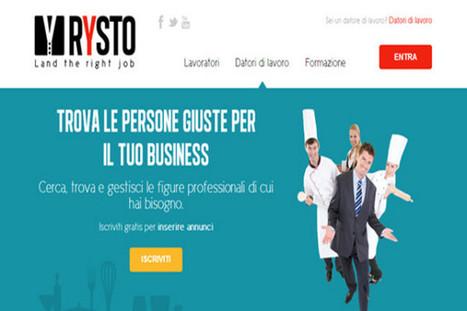 Rysto: il social network che aiuta la ricerca del lavoro - DGmag.it | Marketing e social media | Scoop.it