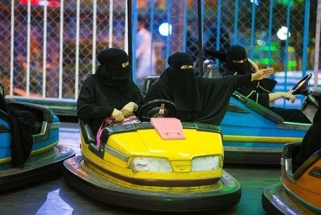 Saudi Arabian Women Love Bumper Cars (But Not for Bumping) | A Voice of Our Own | Scoop.it
