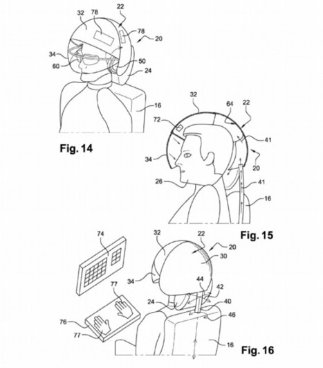 Airbus Patents a VR Helmet That'll Make You Forget You're on a Plane | WIRED | Cyborg Lives | Scoop.it