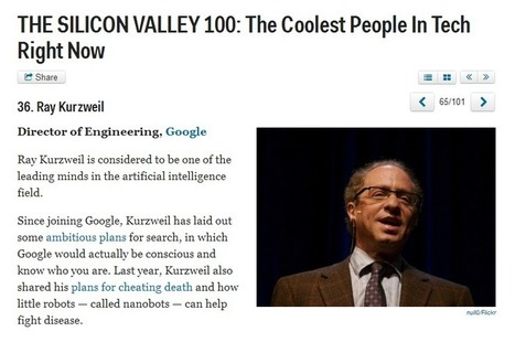 The Silicon Valley 100: The coolest people in tech right now | Global Brain | Scoop.it