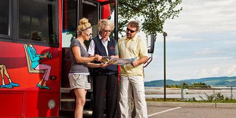 Autobus touristique - Circuits et tours guidés - Activités et attraits - Ville de Saguenay | NYC Quebec Trucs utiles | Scoop.it