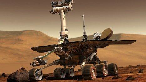 NASA to reformat Mars rover's memory from 125 million miles away   robotics   Scoop.it