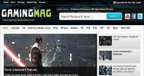 11 Best Gaming WordPress Themes For Gamers - Templates Crunch | WordPress Themes | Scoop.it