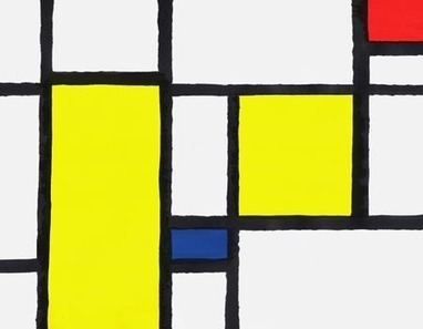 Piet Mondrian Inspired Lesson Plan (with Math/Geometry Vocabulary, Art, & Social Studies Lesson Content) | Issues Affecting the K-7 Art Teacher | Scoop.it